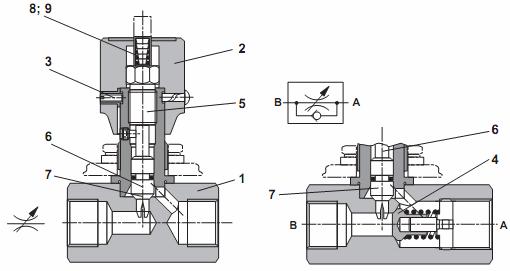 гидродроссели схема