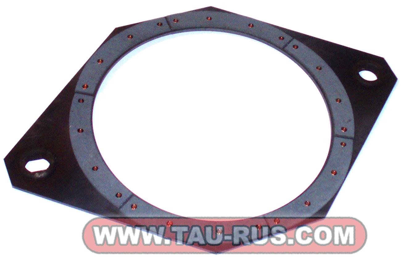 Диск тормозной с накладками УВ-3144-00Б-009 (комплект) к муфте-тормоз УВ3144 параметры, фото.